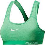 Nike Pro Classic Padded Sport-BH Damen hellgrün/meliert