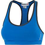 Reebok Sport-BH Damen blau