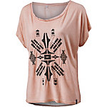 WLD Summer Heart T-Shirt Damen altrosa