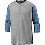 Colour Wear Grand Base Langarmshirt Herren graumelange/blau
