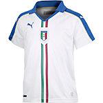 PUMA Italien EM 2016 Auswärts Fußballtrikot Kinder weiß/blau