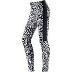 Nike LEG A SEE Leggings Damen schwarz/weiß