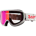 SCOTT Capri Skibrille weiß/rot