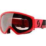SCOTT Faze Skibrille rot/schwarz