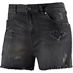 TOM TAILOR Shorts Damen black denim