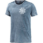 REPLAY T-Shirt Herren washed blue