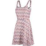 LTB Trägerkleid Damen pink/weiß