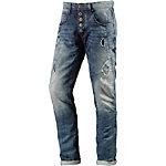M.O.D Wesley Anti Fit Jeans Herren destroyed denim