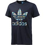 adidas Printshirt Herren dunkelblau/bunt