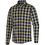 Strellson Sportswear Langarmhemd Herren senf/blau