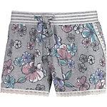 Short Stories Shorts Damen grau/geblümt