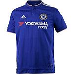 adidas FC Chelsea 15/16 Heim Fußballtrikot Herren blau
