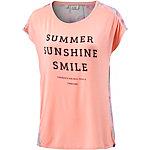 TIMEZONE Oversize Shirt Damen apricot/bunt