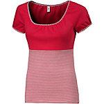 Blutsgeschwister T-Shirt Damen rot/weiß