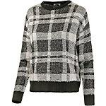all about eve Strickpullover Damen schwarz/weiß