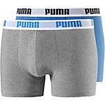 PUMA Boxer Herren graumelange/hellblau