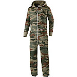 Onepiece Camouflage Jumpsuit oliv