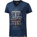 TIMEZONE V-Shirt Herren dunkelblau