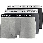 TOM TAILOR Boxer Herren schwarz/grau/anthrazit
