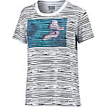 CONVERSE T-Shirt Damen weiß/allover