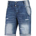 TIMEZONE StuadTZ Straight Fit Jeans Herren destroyed denim