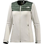 The North Face Alternate Fleecejacke Damen weiß/oliv