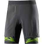 Salomon Intensity Laufshorts Herren anthrazit