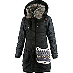 Khujo Chantal Mix Outdoorjacke Damen schwarz