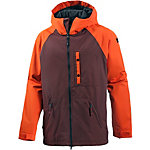 Ride Snowboards Gatewood Snowboardjacke Herren bordeaux/orange