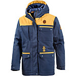 Picture Worked Snowboardjacke Herren navy/gelb