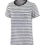 Ezekiel Keystone T-Shirt Herren weiß/navy