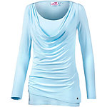 Maui Wowie 2-in-1 Langarmshirt Damen hellblau