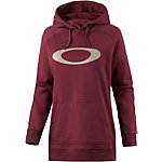 Oakley Wallflower Kapuzensweatshirt Damen bordeaux