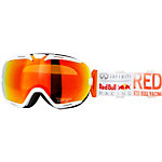 Red Bull Skibrille weiss/ornage