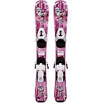 TECNOPRO Set Skitty 14/15 + TC45 All-Mountain Ski Mädchen pink