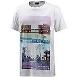 Maui Wowie Printshirt Herren weiß
