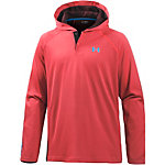 Under Armour HeatGear Popover Funktionsshirt Herren rot