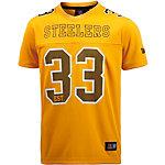 Majestic Athletic Pittsburgh Steelers Fanshirt Herren gelb