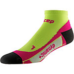 CEP Low Cut Socks Laufsocken Damen lime/pink