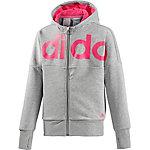 adidas Trainingsjacke Mädchen grau/pink