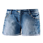 Maui Wowie Hot Pants Damen denim