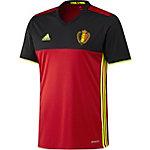 adidas Belgien EM 2016 Heim Fußballtrikot Herren rot