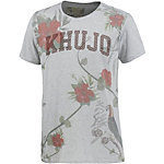 Khujo Printshirt Herren grau/bunt