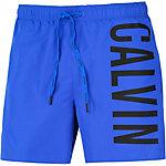 Calvin Klein Intense Power Badeshorts Herren blau/schwarz