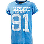 VSCT Printshirt Herren hellblau/weiß