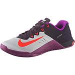 Nike Metcon 2 Fitnessschuhe Damen schwarz/lila