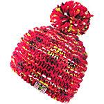 Chiemsee Bommelmütze rot gemustert