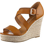 Buffalo Wedges Damen braun