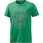 TOM TAILOR Printshirt Herren grün
