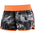 Reebok One Series Funktionsshorts Damen anthrazit/weiß